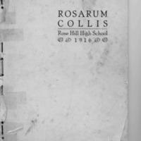 Rosarum Collis 1916 Yearbook-part1.pdf